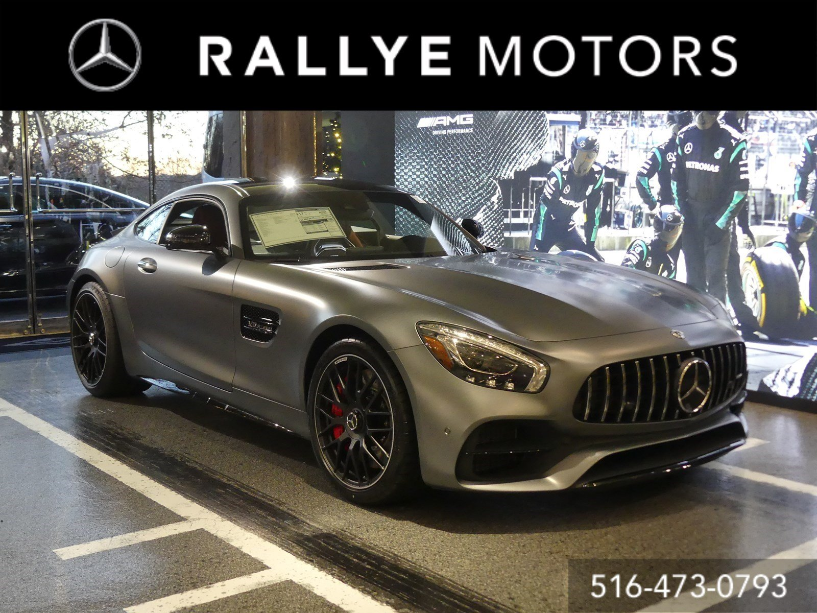New 2019 Mercedes Benz Amg Gt C 2dr Car In Roslyn 19 72478 The